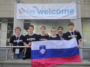 Slovenska ekipa v Krakovu