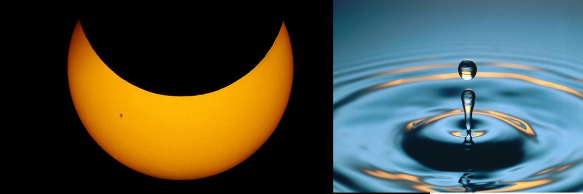 Sončev mrk in Dan vode